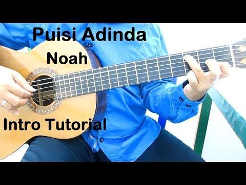 Belajar Gitar Noah Puisi Adinda (Intro)