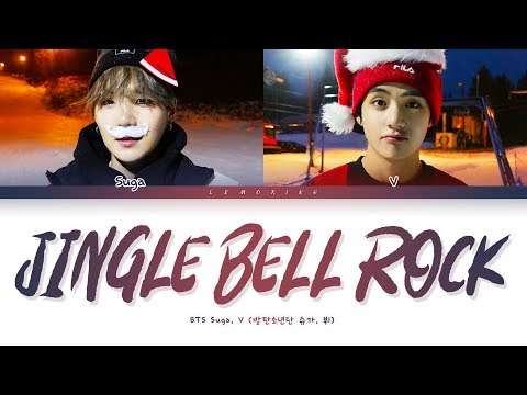 BTS Suga, V Jingle Bell Rock Lyrics (방탄소년단 슈가, 뷔 Jingle Bell Rock 가사) [Color Coded Lyrics/Eng]