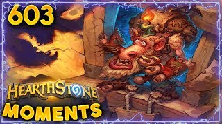 Risky Play! Big Reward! | Hearthstone Daily Moments Ep. 603