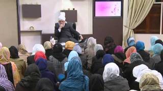 Gulshan-e-Waqfe Nau (Nasirat) Class: 20th November 2010 - Part 2 (Urdu)
