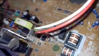 tv philips ligando e em 5 segundos desliga como consertar