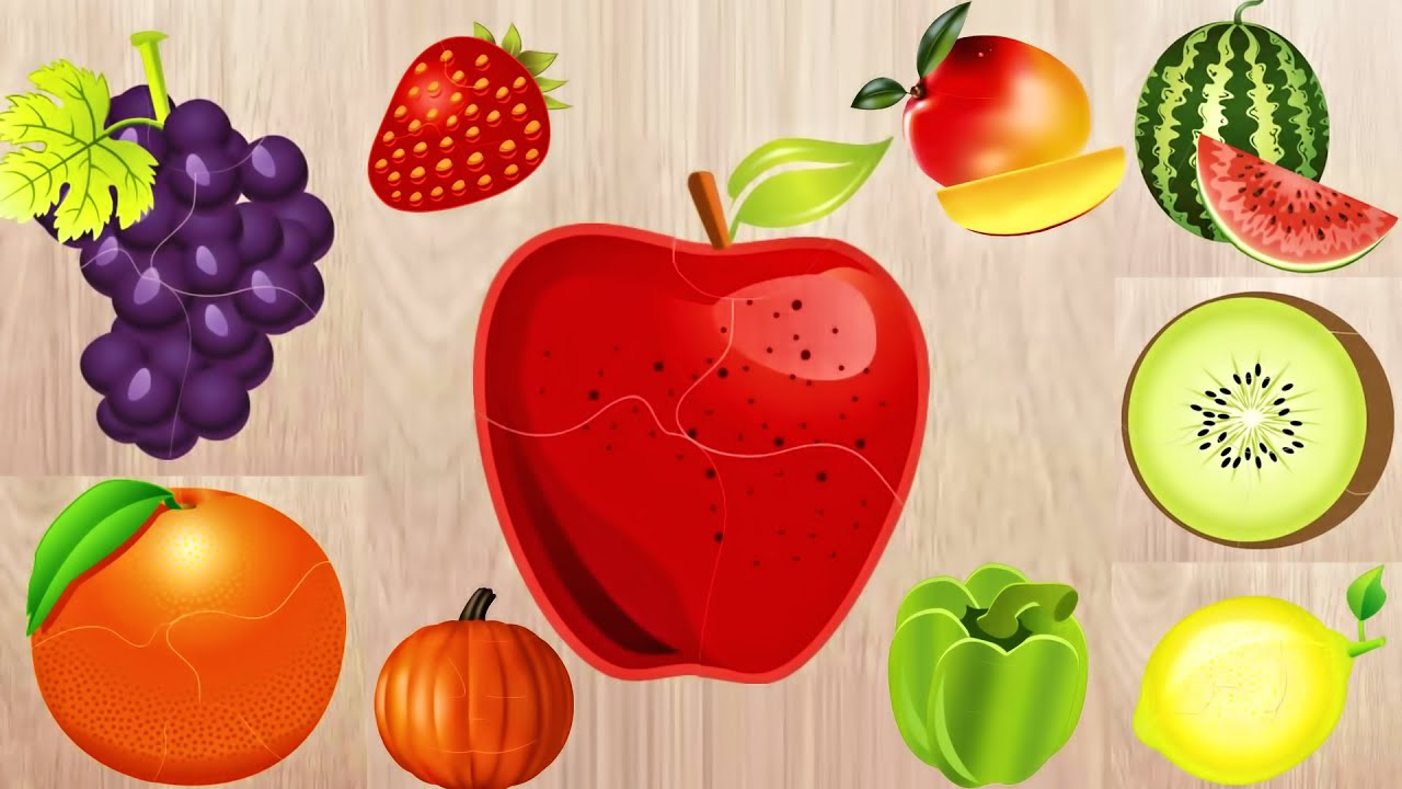 Cognitive puzzles about vegetables and fruits 40