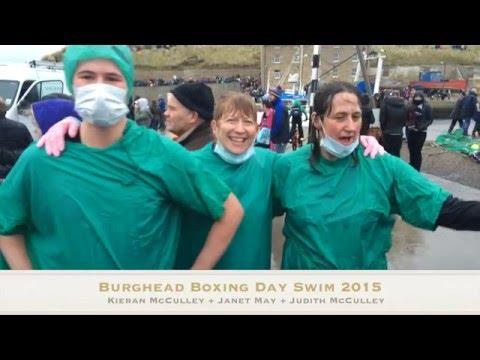 Burghead Plunge 2015