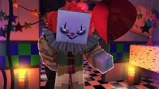 Minecraft Pennywise Attacks Sister Location!- Minecraft FNAF Roleplay
