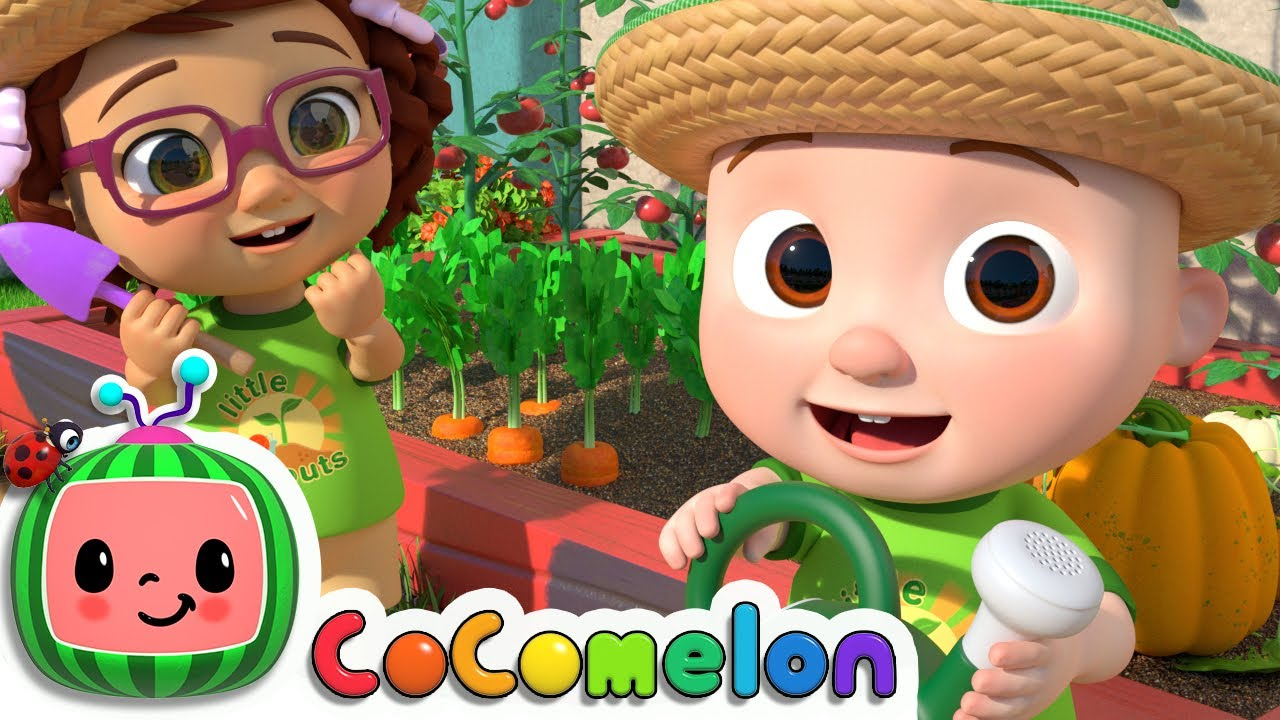 Gardening Song | CoComelon Nursery Rhymes & Kids Songs