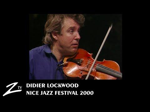 Didier Lockwood - Nice Jazz Festival 2000 - LIVE HD