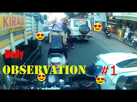 Daily Observation #1 | Ktm Duke 390 | Pune | Spotting Hot Thing