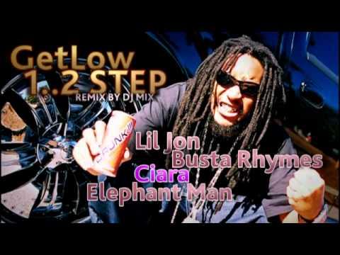 LilJon & BustaRhymes & Ciara & ElephantMan - Get Low (remix by Dj.MIX) 2011-2012