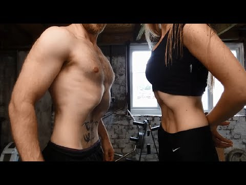 Stomach Vacuum Exercise - Before & After (30 Days)