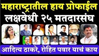 महाराष्ट्रातील अती महत्वाचे मतदारसंघ High Profile Seats Vidhan Sabha Election in Maharashtra 2019