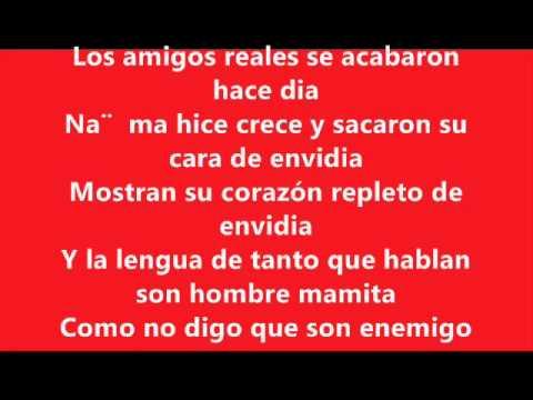 LETRA DE: Big Mato, Jose Reyes, Poeta Callejero, Vakero & Voltio - No Hay Amigo (English & Spanish)