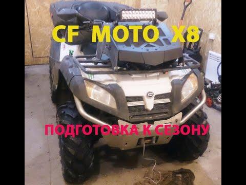 Квадроцикл cf moto X8 - подготовка к сезону