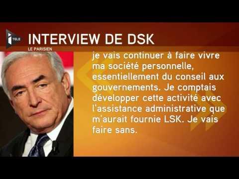 DSK de nouveau dans la tourmente