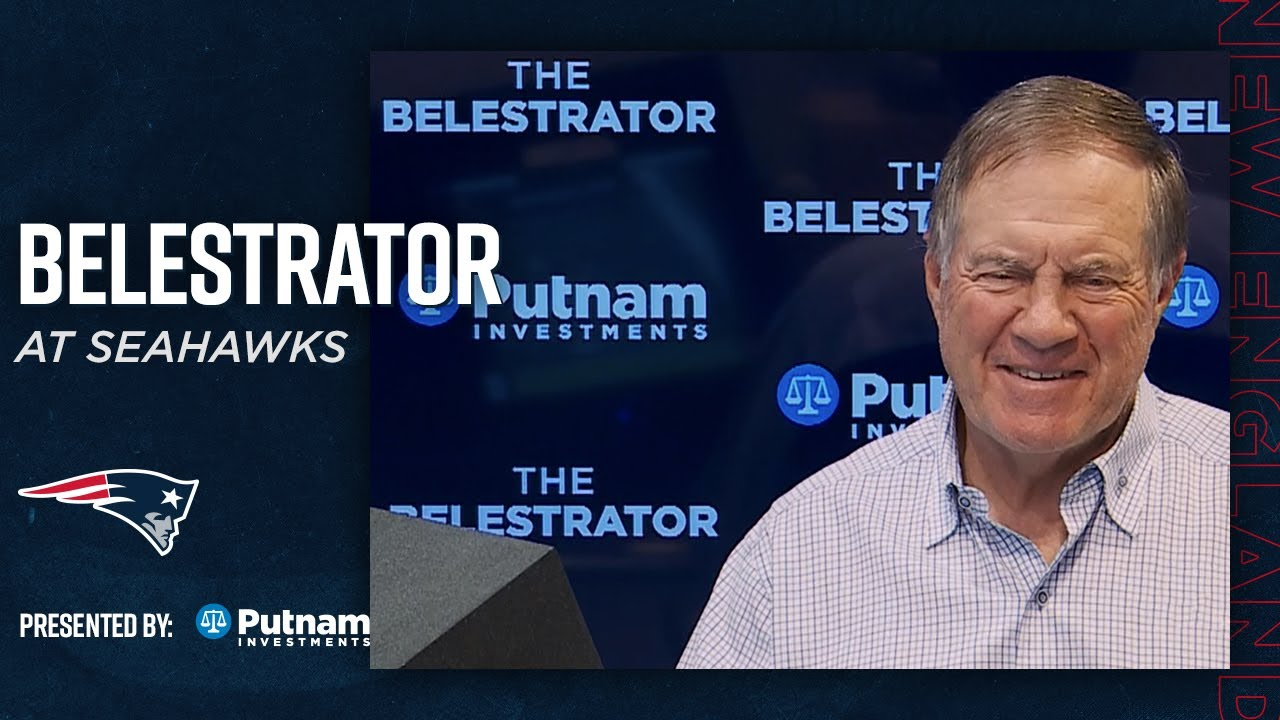 """Belichick Analyzes the Seahawks: """"This will really be a big challenge for our defense"""" 