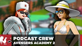 Let's Play – Marvel Avengers Academy Part 2 – The Rooster Teeth Podcast Crew