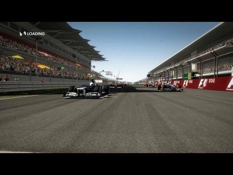 F1 2012 Career mode, career 1, season 1 Austin, Williams
