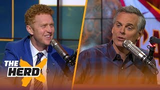 Colin and Brian Scalabrine disagree Harden makes a better case for MVP than LeBron | THE HERD