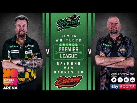2018 Premier League of Darts Week 3 Whitlock vs van Barneveld