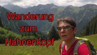 Wanderung über den Hahnenkopf ins Oytal - Oberstdorf