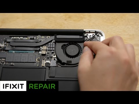 How To: Replace or clean the Fan in your MacBook Air 13 (Early 2015)