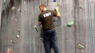 Indoor Rock Climbing Techniques : Dyno vs. Static Indoor Rock Climbing Techniques