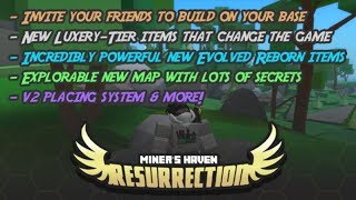 ROBLOX MINER'S HAVEN REZ ALL NEW/OLD HALLOWEEN CODES (READ DESC) & HEADLESS HORSEMAN LOCATION