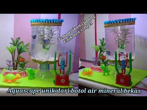aquascape-unik-dari-botol-air-mineral-bekas-untuk-ikan-cupang