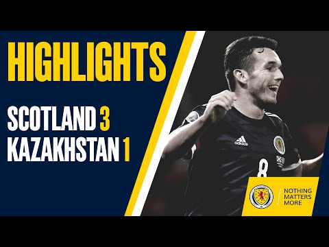 HIGHLIGHTS | Scotland 3-1 Kazakhstan