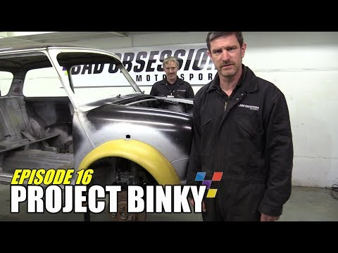 Project Binky - Episode 16 - Austin Mini GT-Four - Turbocharged 4WD Mini