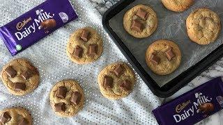 How To Make Cadbury Dairy Milk Cookies