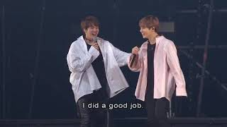 Video Jungkook imitate Jin after performing Awake on stage (MUST SEE!) download MP3, 3GP, MP4, WEBM, AVI, FLV Agustus 2018