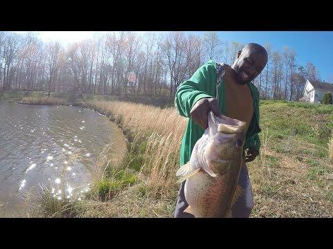 Breaking PB again! Private/residential pond