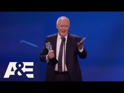 John Lithgow Wins Best Supporting Actor in a Drama Series | 22nd Annual Critics' Choice Awards | A&E