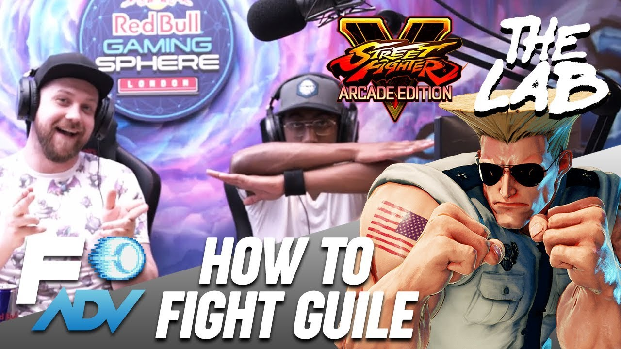 Guile: The Lab // Tutorial by Tyrant and Packz // Street Fighter V Arcade Edition