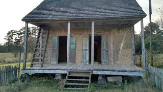 USA КИНО 1136. Экскурсия по музею старинной деревенской архитектуры Луизианы.