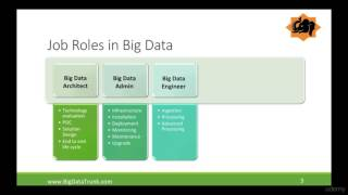 Roles in Big data
