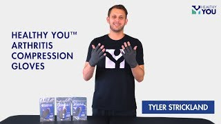 Healthy You™ Arthritis Compression Gloves