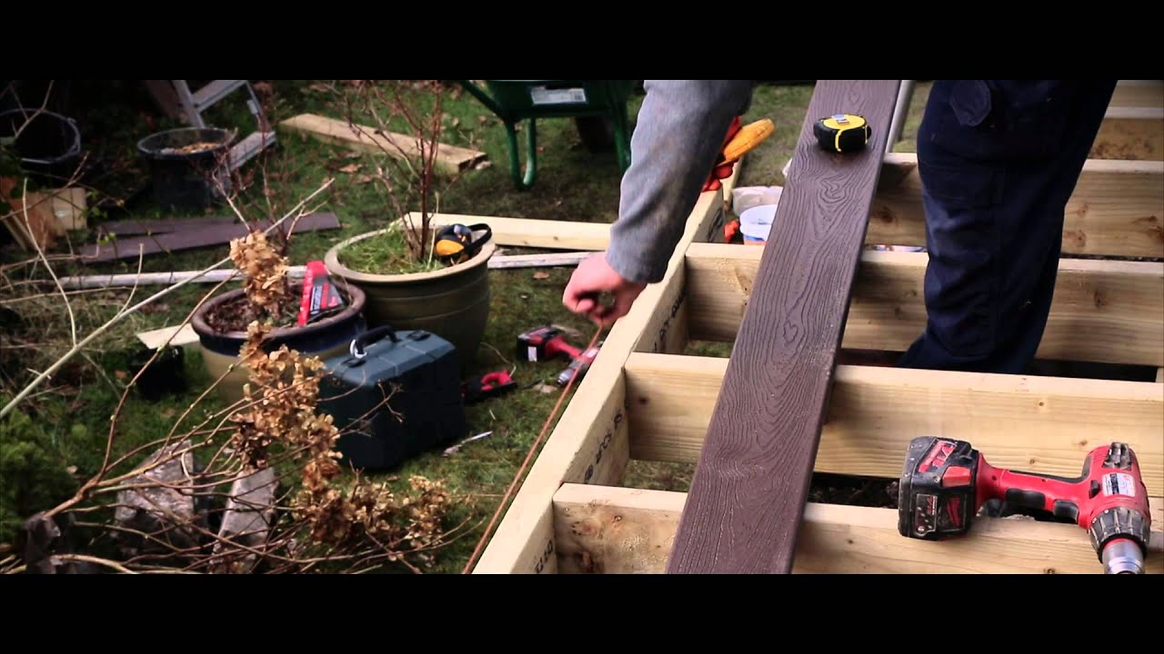 Arbordeck Trex Transcend Composite Decking How To