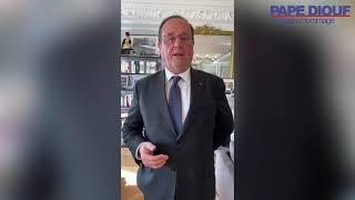 """Hommage à Pape Diouf - François Hollande : """"Un homme engagé"""""""