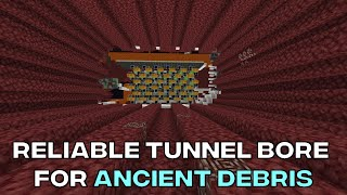 Reliable Tunnel Bore For Ancient Debris