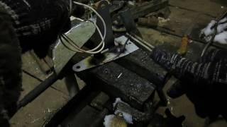 Пайка медью  с помощью сварочного и батарейки АА