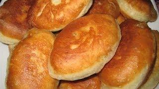 Пирожки с вишней жареные на сковороде.