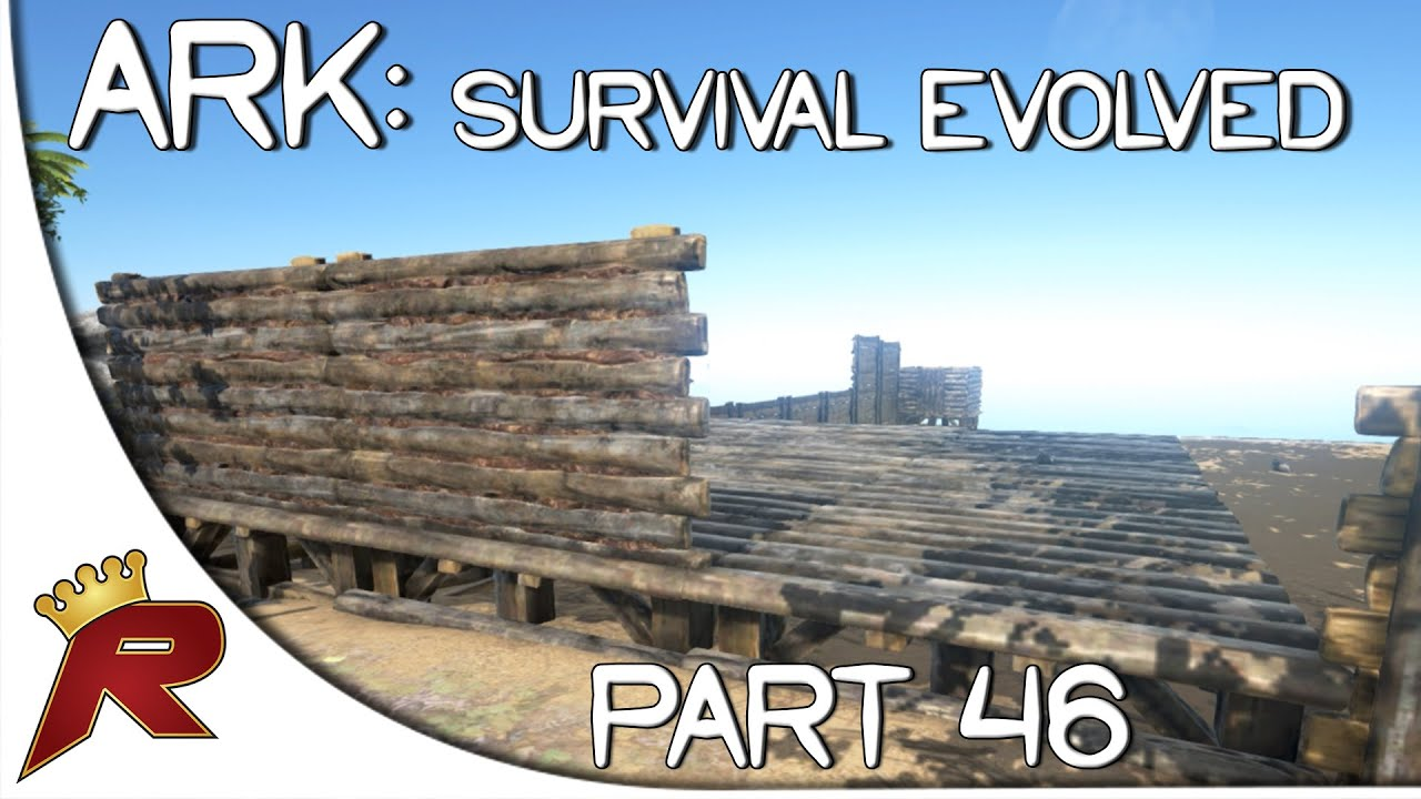 Ark Survival Evolved Gameplay Part 46 Time To Build Early
