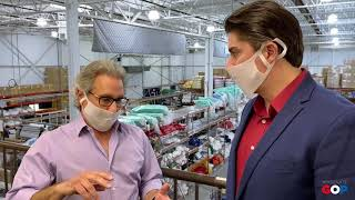 Sen. MacDonald visits PPE manufacturer in Sterling Heights