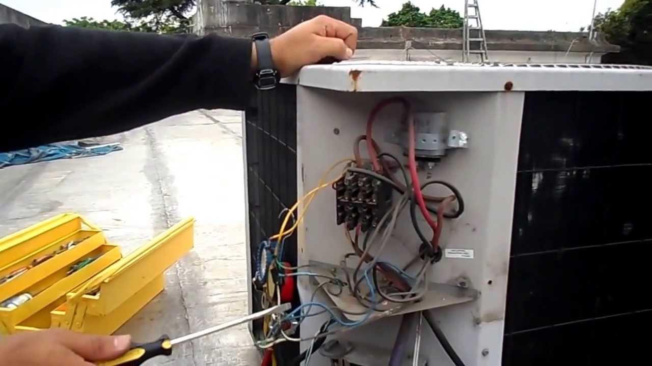 heil 3 ton heat pump wiring diagram aire acondicionado de 15000 frigor  as parte el  ctrica  aire acondicionado de 15000 frigor  as parte el  ctrica