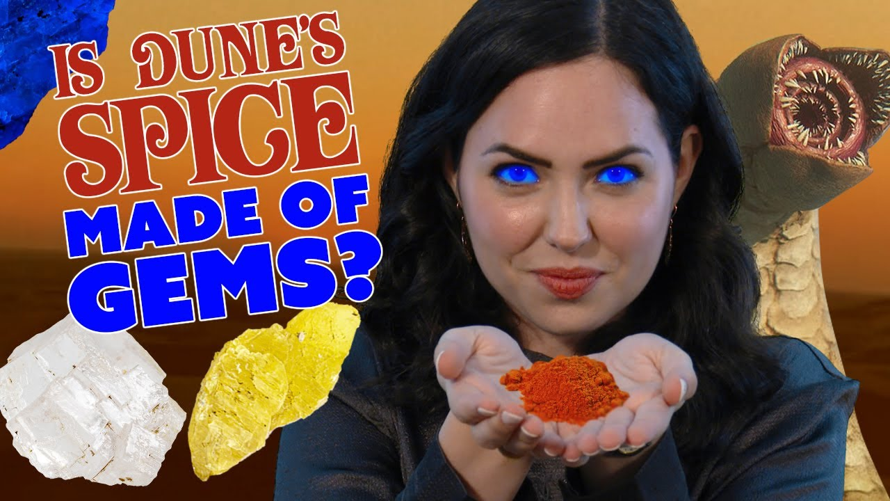 Dune: Minerals of the Melange