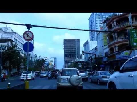 Asian Travel - Phnom Penh Monivong Blvd On 20 February 2015 - Youtube