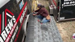 How to install Dimensional Shingles on a Roof Step By Step DIY