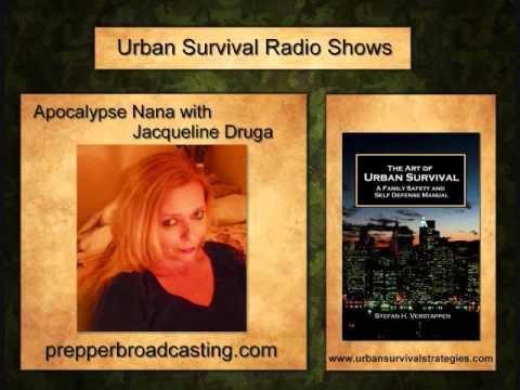 Urban Survival VS Wilderness Survival with Apocalypse Nana
