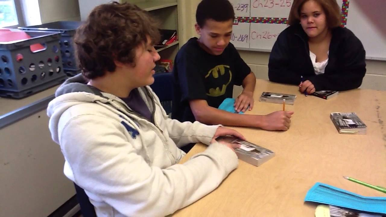 Literature Circles Eisenhower Middle School Youtube